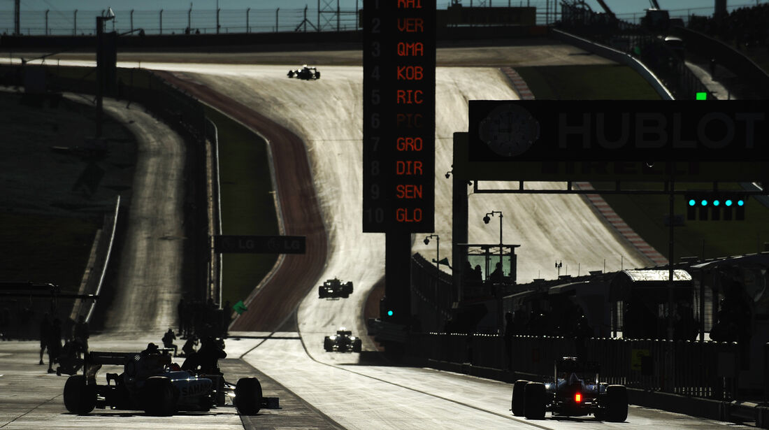 Impressionen - Formel 1 - GP USA - Austin - 16. November 2012