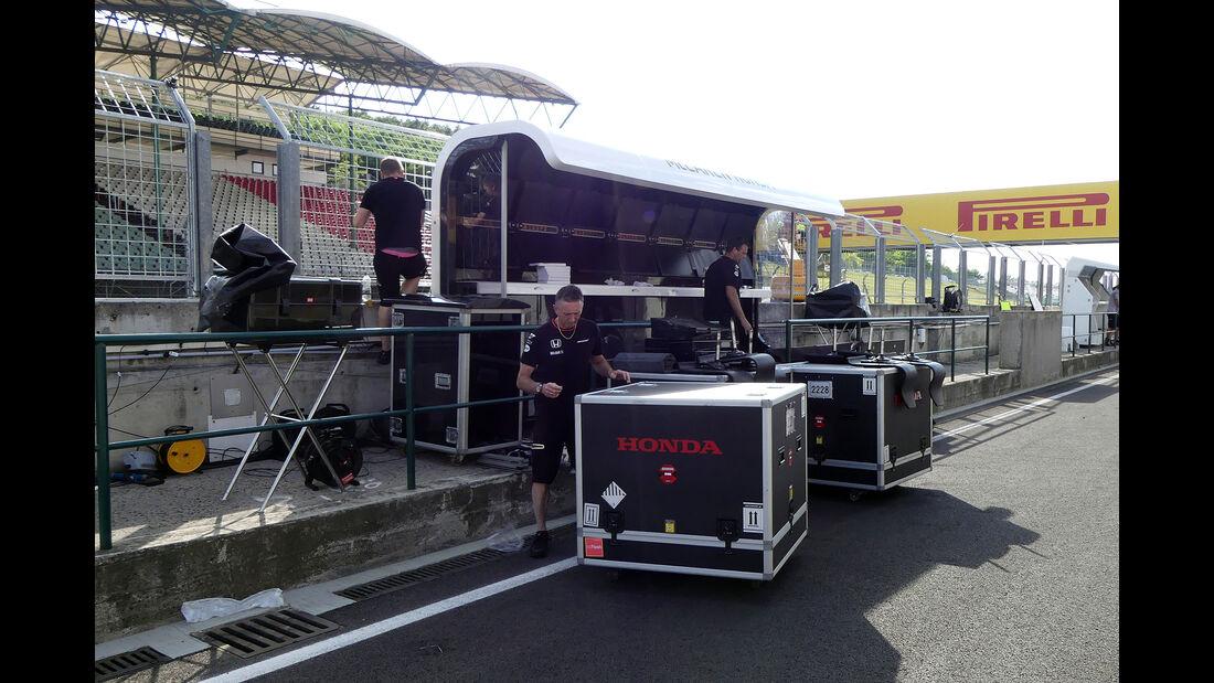 Impressionen  - Formel 1 - GP Ungarn - 20. Juli 2016