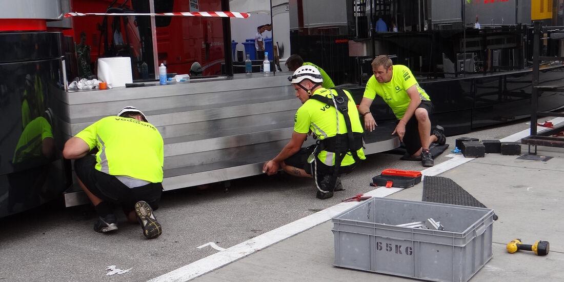 Impressionen - Formel 1 - GP Ungarn - Budapest - 25. Juli 2012