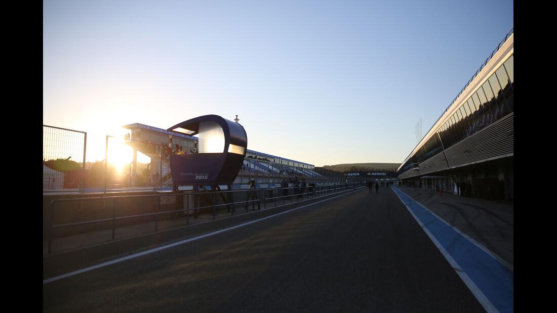 Impressionen - Formel 1-Test Jerez - 1. Januar 2015
