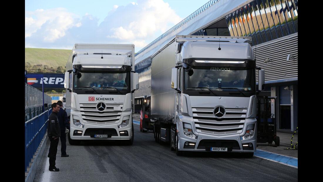 Impressionen - Formel 1-Test - Jerez - 4. Februar 2015