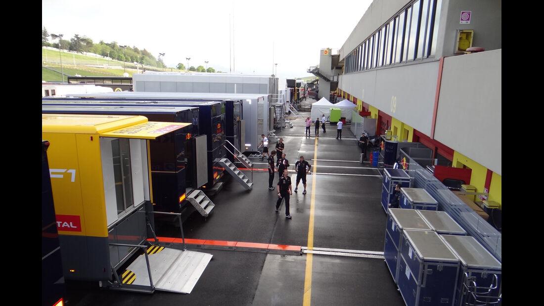 Impressionen - Formel 1-Test - Mugello - 1. Mai 2012