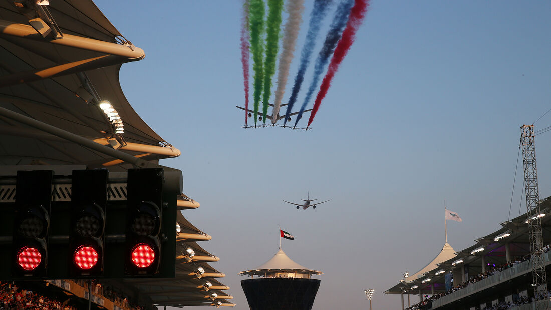 Impressionen - GP Abu Dhabi 2019 - Rennen