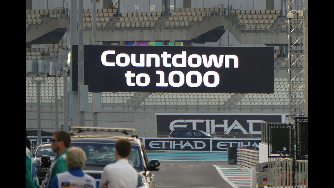 Impressionen - GP Abu Dhabi - Formel 1 - 22. November 2018