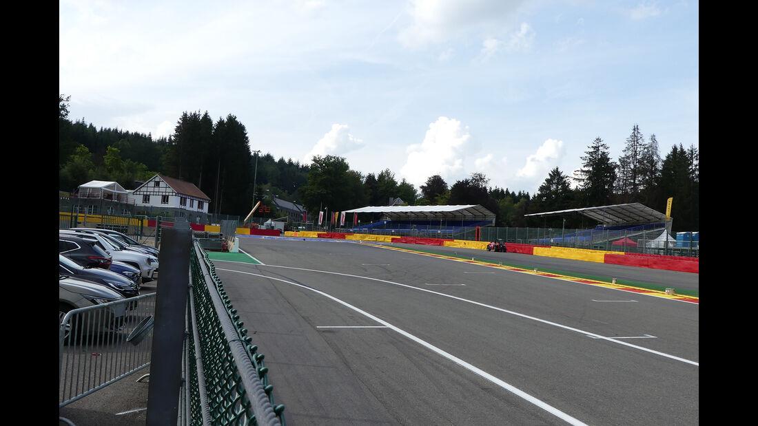 Impressionen - GP Belgien - Spa-Francorchamps - Formel 1 - Mittwoch - 28.8.2019