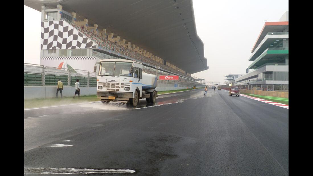 Impressionen GP Indien 2011 - Delhi