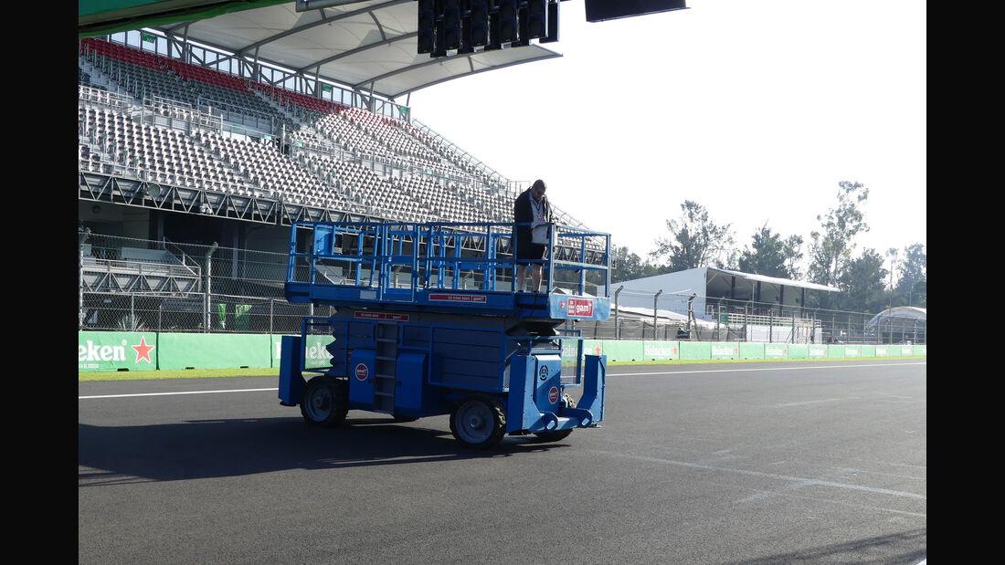 Impressionen - GP Mexiko - Formel 1 - Donnerstag - 26.10.2017