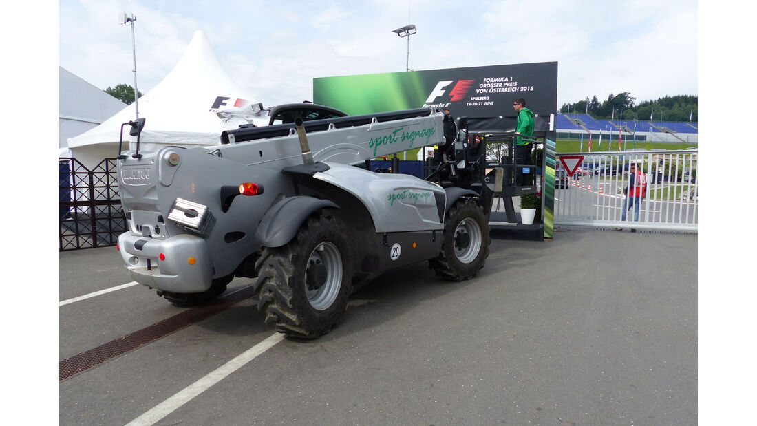 Impressionen - GP Österreich - Formel 1 - Donnerstag - 18.6.2015