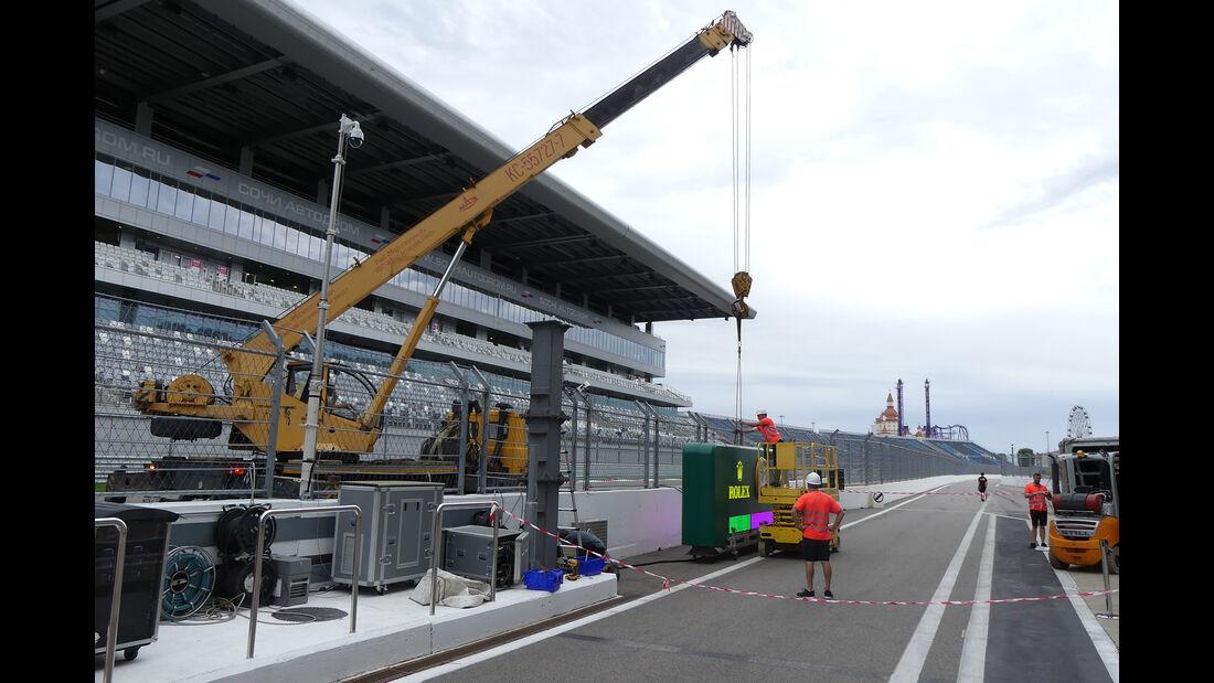 Impressionen - GP Russland - Sochi Autodrom - Mittwoch - 25.9.2019