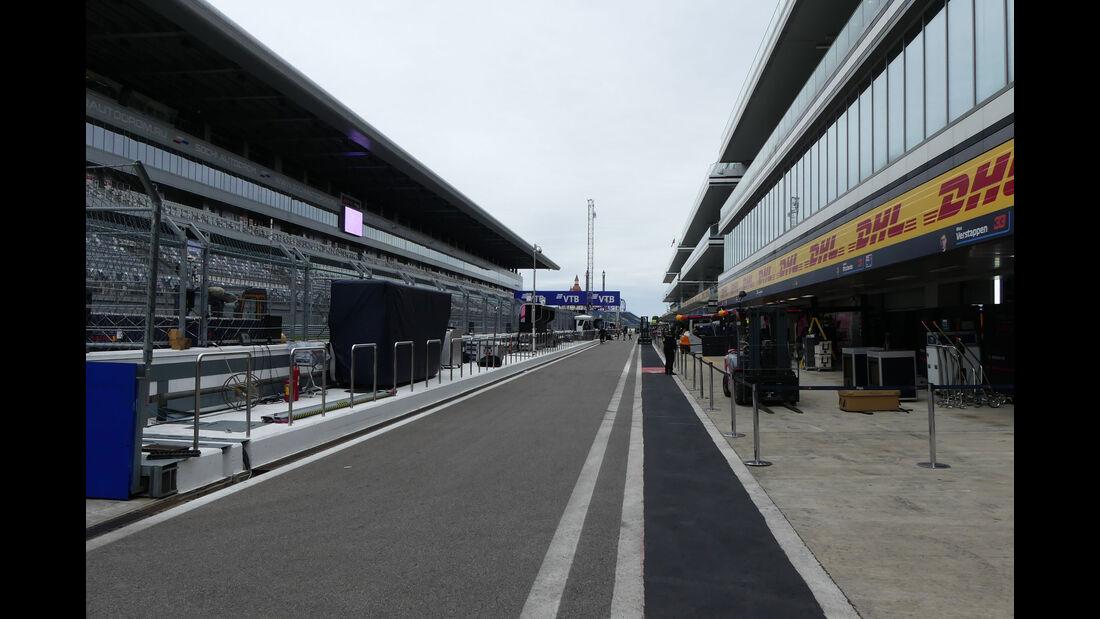 Impressionen - GP Russland - Sotschi - Formel 1 - Mittwoch - 26.09.2018