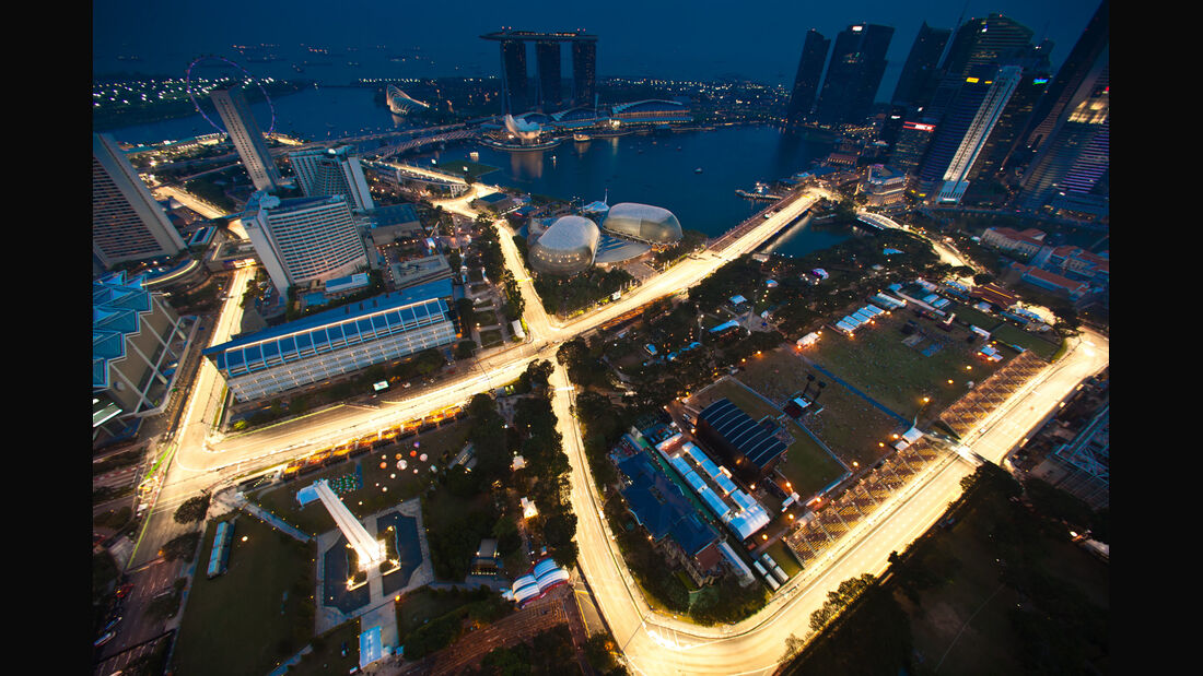 Impressionen - GP Singapur 2012