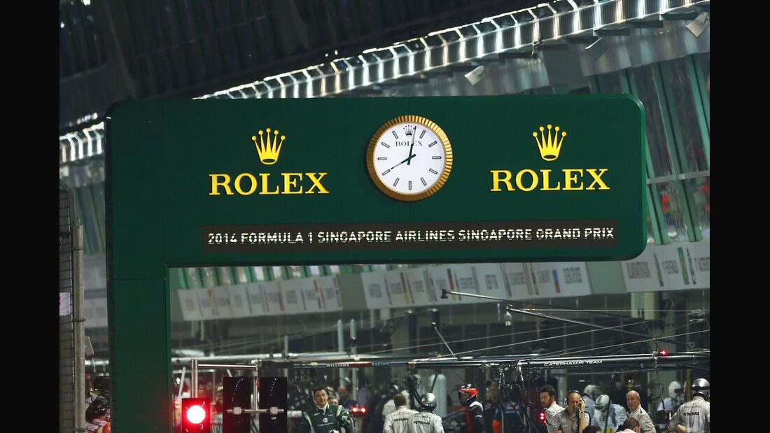 Impressionen - GP Singapur 2014