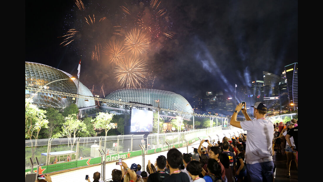 Impressionen - GP Singapur 2018