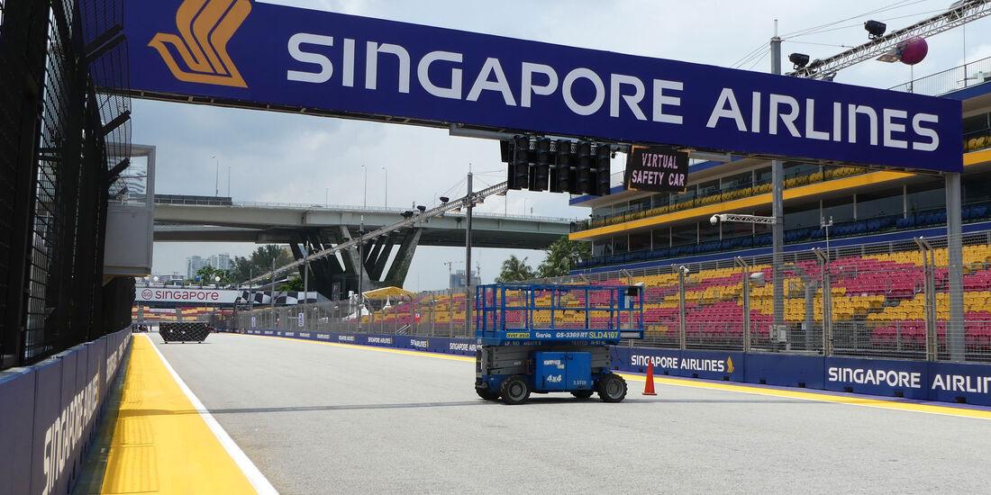 Impressionen - GP Singapur - Formel 1 - Donnerstag - 14.9.2017