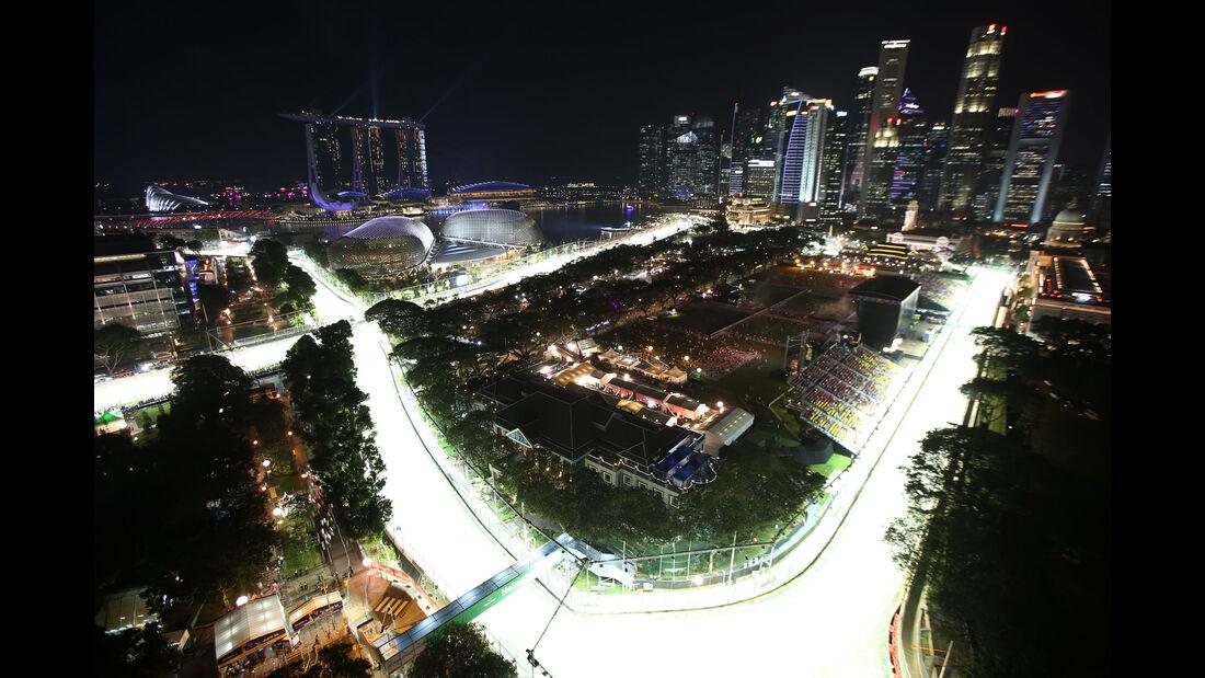 Impressionen - GP Singapur - Formel 1 - Freitag - 15.9.2017
