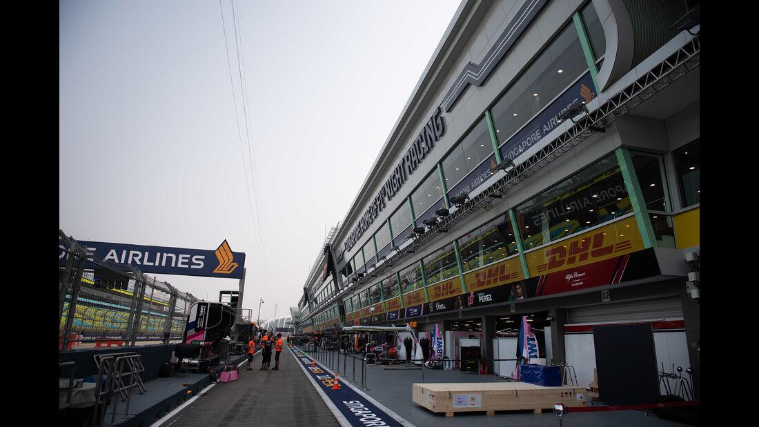 Impressionen - GP Singapur - Formel 1 - Mittwoch - 18.09.2019