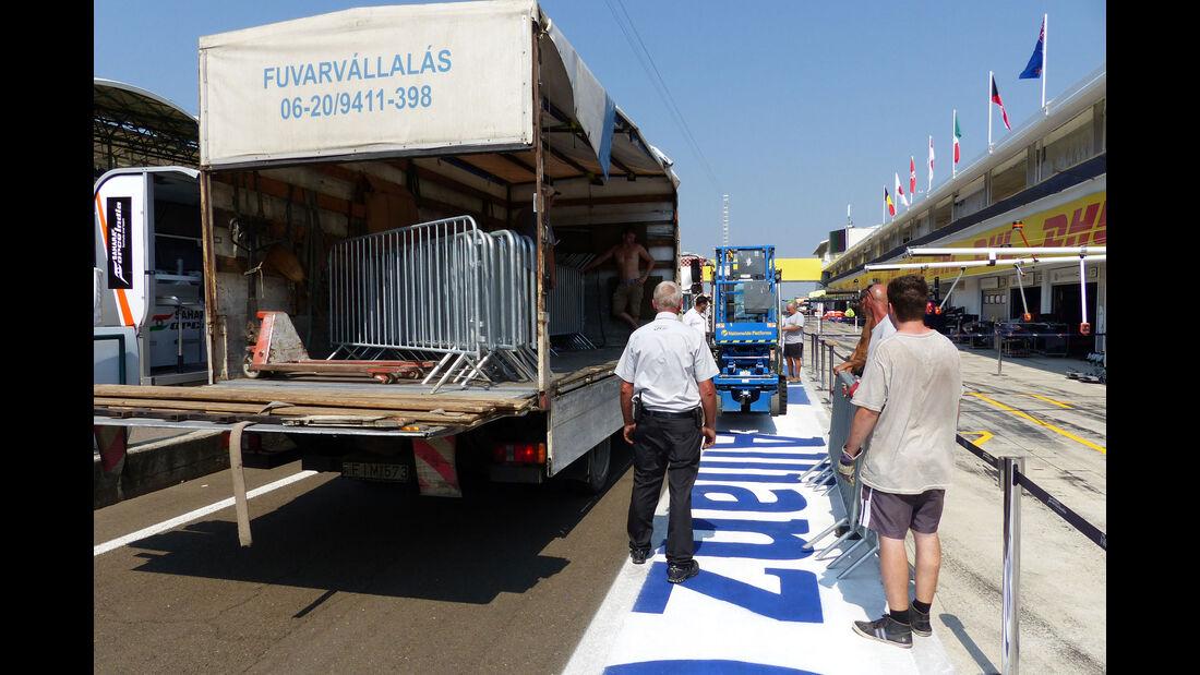 Impressionen - GP Ungarn - Budapest - Donnerstag - 23.7.2015
