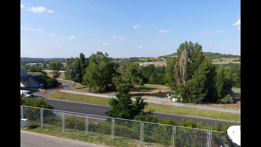 Impressionen - GP Ungarn - Budapest - Mittwoch - 22.7.2015