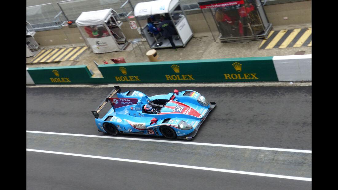 Impressionen - Pegasus Racing - Morgan - Nissan - 24h-Rennen Le Mans 2015 - Mittwoch - 11.6.2015