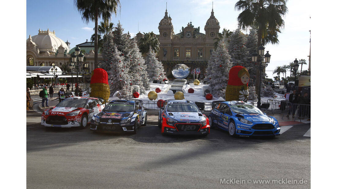 Impressionen - Rallye Monte Carlo 2016