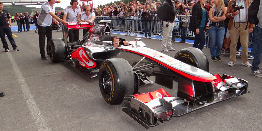 Impressionen Spa GP Belgien 2012