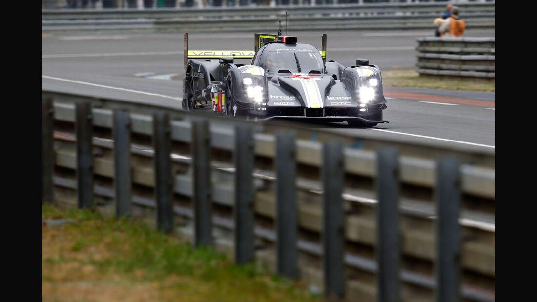 Impressionen - Team Bykolles - CLM P1/01 - AER - 24h-Rennen Le Mans 2015 - Mittwoch - 11.6.2015