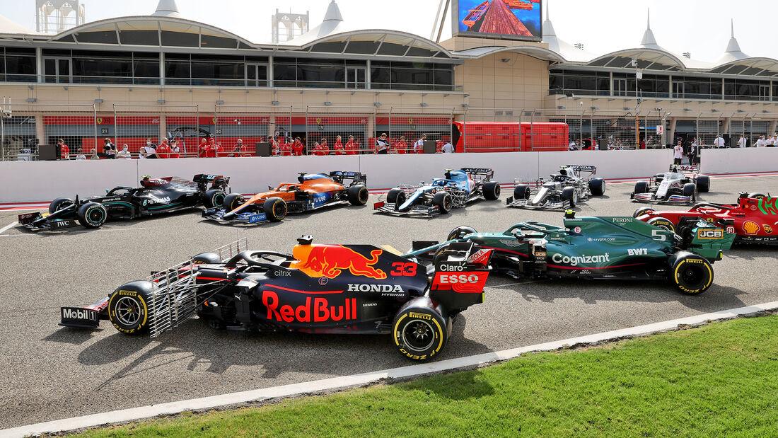 Impressionen - Test - Formel 1 - Bahrain - 12. März 2021