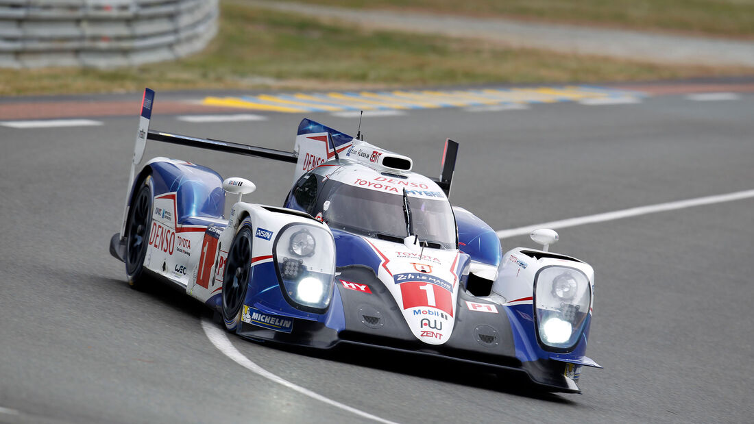 Impressionen - Toyota TS040 Hybrid - 24h-Rennen Le Mans 2015 - Mittwoch - 11.6.2015