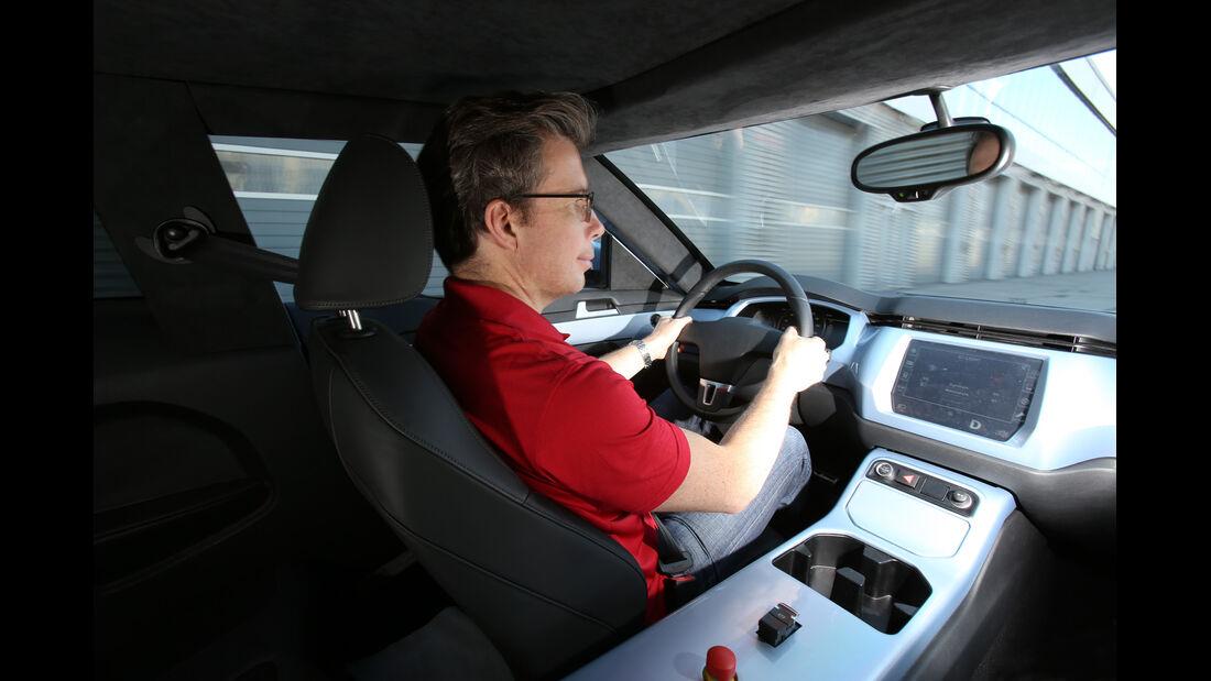 In-Eco, IAA, Cockpit, Fahrersicht