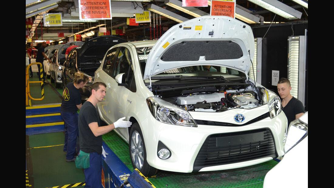 In den Toyota-Werken liefen mehr als 9 Millionen Autos vom Band.
