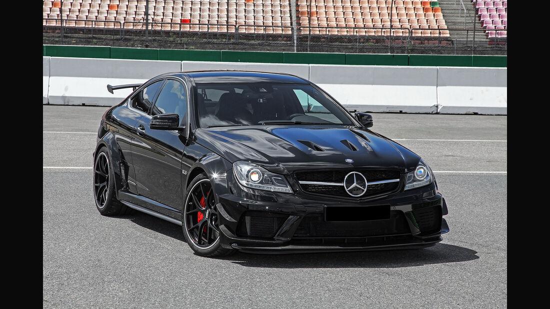 Inden Design Mercedes C63 Umbau auf Black Series