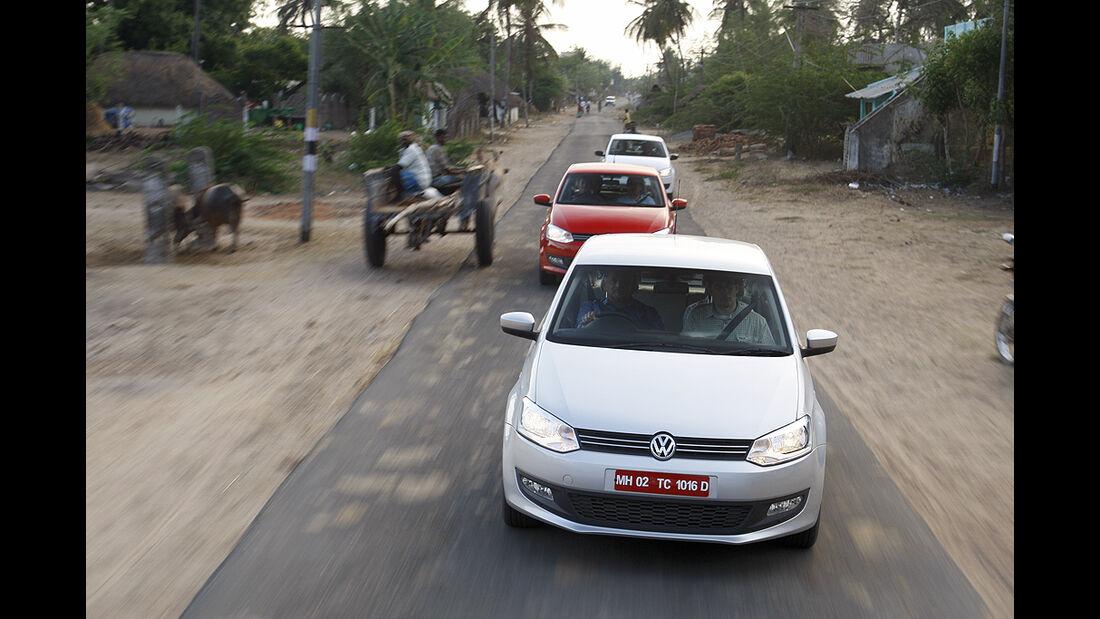 Indien-Testfahrt, VW Polo