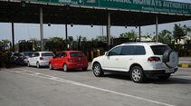 Indien-Testfahrt, VW Polo, VW Touareg
