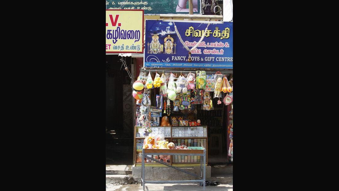 Indischer Verkaufsstand