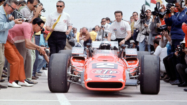 Indy 500 1969 - Mario Andretti - Hawk III Ford