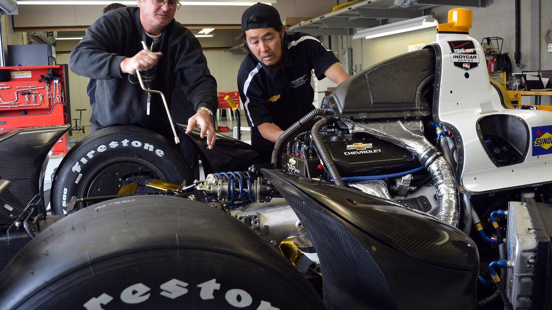 Indy Car Motor Illmor