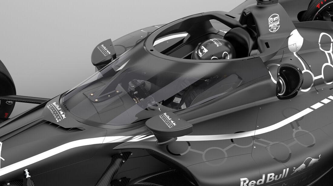 IndyCar - Aeroscreen - Cockpitschutz - Red Bull
