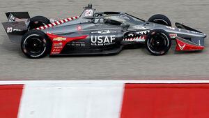 IndyCar - Aeroscreen - Schutzscheibe - Test - 2020