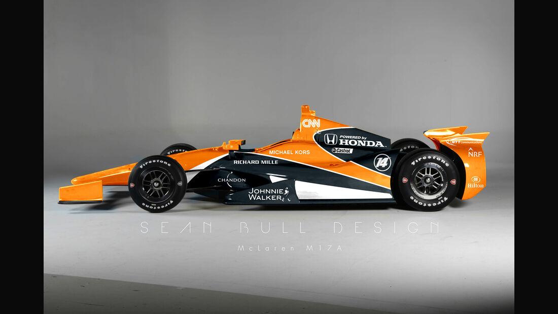 IndyCar McLaren Photoshop - Sean Bull - 2017