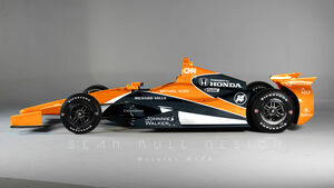 IndyCar McLaren Photoshop - Sean Bull - 2017