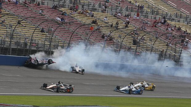 IndyCar - Motorsport - Briscoe - Fontana