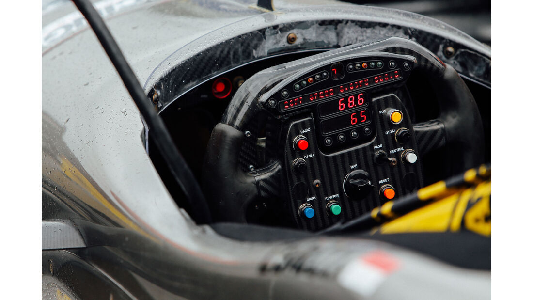 IndyCar - Motorsport - Lenkrad