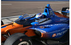 IndyCar - Screen-Test - Scheibe - Scott Dixon - Phoenix - 2018