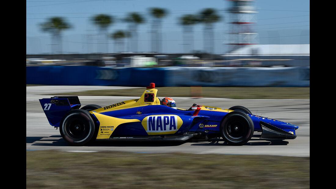 IndyCar-Test - Alex Rossi - 2018