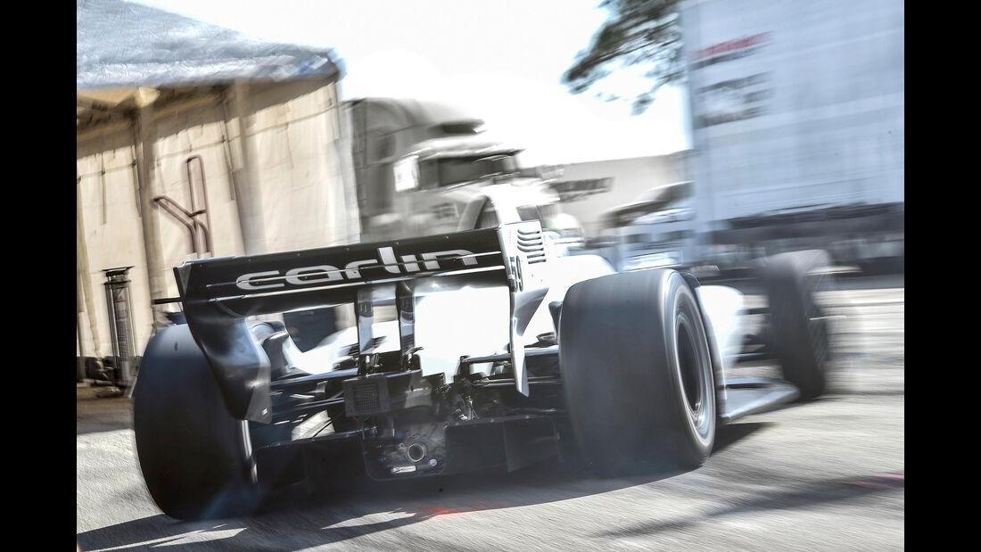 IndyCar-Test - Max Chilton - 2018