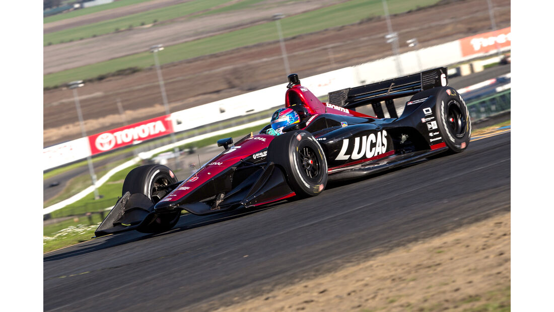 IndyCar-Test - Robert Wickens - 2018