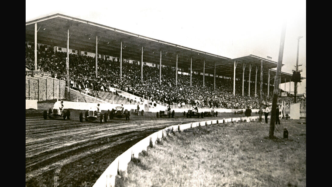 Indycar Milwaukee, 1903, Sandrennbahn