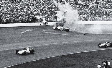 Indycar Milwaukee, 1968, Crash, Ronnie Duman