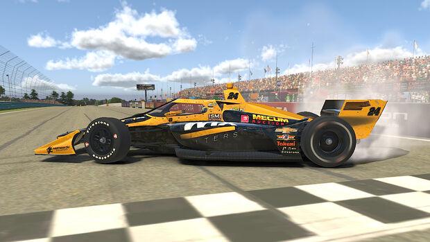 Indycar - Simracing - eSports - Watkins Glen - 2020