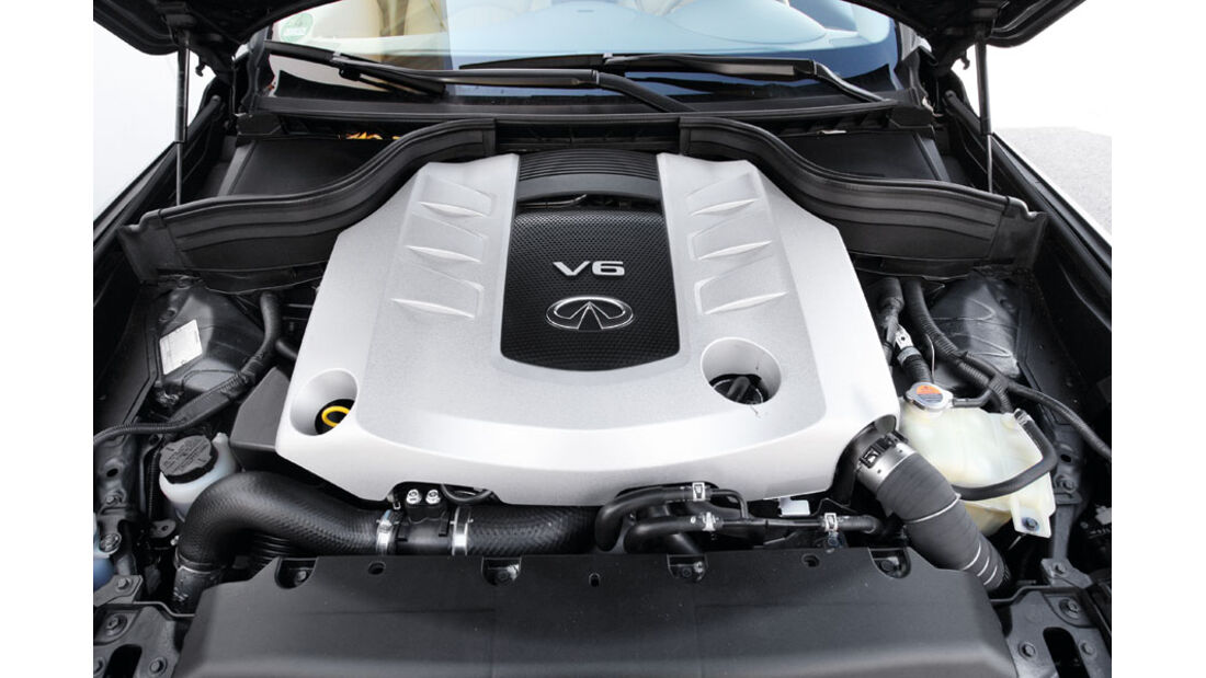 Infiniti EX30 D, Motor